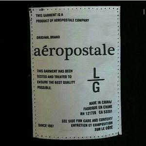 Aeropostale Tops - Aeropostale Faux Fur Zip Up Hoodie